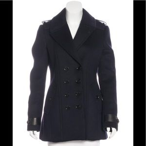 Burberry London wool blend double-breasted coats